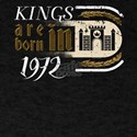 Gothic Birthday Kings Castle Born 1972 T-Shirt