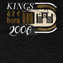 Gothic Birthday Kings Castle Born 2008 T-Shirt