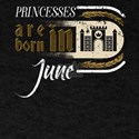Gothic Birthday Princessess Castle Born Ju T-Shirt