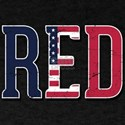 Red Friday American Flag T-Shirt