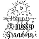Happy And Blessed Grandma T-Shirt