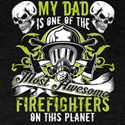 One Of The Most Awesome Firefighters T Shi T-Shirt