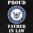 Proud US Navy Father In Law T-Shirt