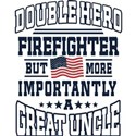 Firefighter Uncle Gift T-Shirt