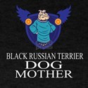 Black Russian Terrier Dog Mother T-Shirt