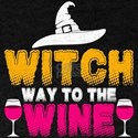 Witch Way To The Wine T-Shirt