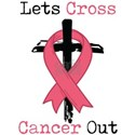 Breast Cancer Awareness Art Christian Wome T-Shirt
