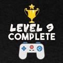 Level 9 Complete 9th Birthday Video Gamer T-Shirt
