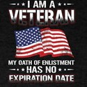 I Am A Veteran My Oath Has No Expiration V T-Shirt