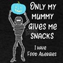 Teal Pumpkin Food Allergy Only My Mummy T-Shirt