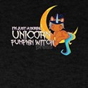 Unicorn Pumpkin Witch Halloween T-Shirt