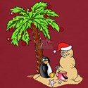 Christmas at the Beach T-Shirt