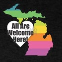 Michigan - All Are Welcome Here T-Shirt