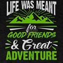 Life Was Meant For Good Friends And Great T-Shirt