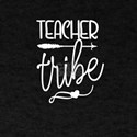 Teacher Tribe Trendy Bojo Fonts Everyday T T-Shirt
