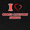 I Love Cross Country Skiing T-Shirt