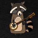 Raccoon Playing Banjo T-Shirt