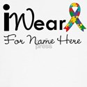 Customize I Wear an Autism Ribbon Shirts