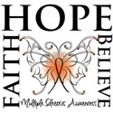 Hope Faith Multiple Sclerosis Women's T-Shirt
