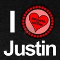 I Love Justin Brothers & Sisters T-Shirt