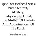Revelation 17:5 White T-Shirt