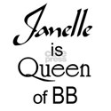 Janelle is Queen Women's T-Shirt