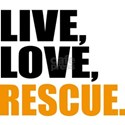 rescue White T-Shirt