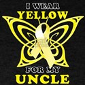 I Wear Yellow For My Uncle T-Shirt