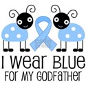 Godfather Light Blue Awareness White T-Shirt