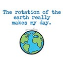 Rotation of the earth T-Shirt