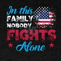 Is This Family Nobody Fights Alone T Shirt T-Shirt