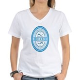 100% Genuine Diver Women's V-Neck T-Shirt