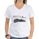 Neoprene in the Morning Women's V-Neck T-Shirt