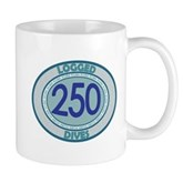 250 Logged Dives Mug
