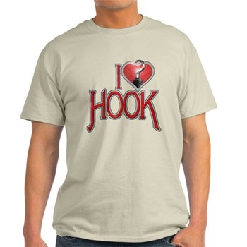 I Heart Hook Light T-Shirt