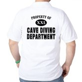 Cave Diving Department Golf Shirt