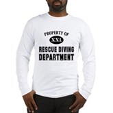 Rescue Diving Department Long Sleeve T-Shirt