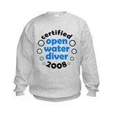 Open Water Diver 2008 Kids Sweatshirt
