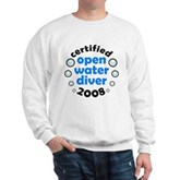 Open Water Diver 2008 Sweatshirt