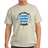 Open Water Diver 2008 Light T-Shirt