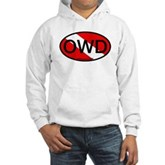 OWD Oval Dive Flag Hooded Sweatshirt