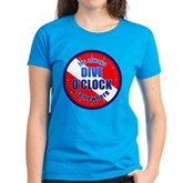 It's Dive O'Clock Somewhere Women's Dark T-Shirt