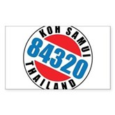 Koh Samui 84320 Rectangle Sticker