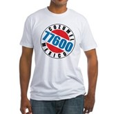 Cozumel Mexico 77600 Fitted T-Shirt