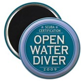Open Water Diver 2009 Magnet