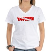 Tauchen German Scuba Flag Women's V-Neck T-Shirt