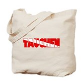 Tauchen German Scuba Flag Tote Bag