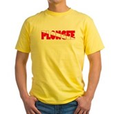 Plongee French Scuba Flag Yellow T-Shirt