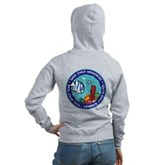 Take Only Memories (fish) Women's Zip Hoodie