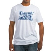 Dives Well With Others Fitted T-Shirt